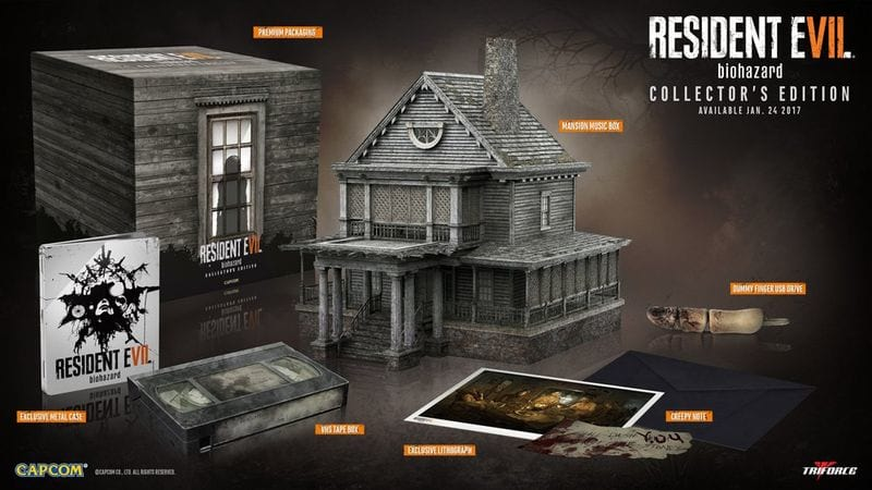 Resident Evil 7 Collectors Edition Will Net You A Mansion 22727UNILAD imageoptim re7 ce
