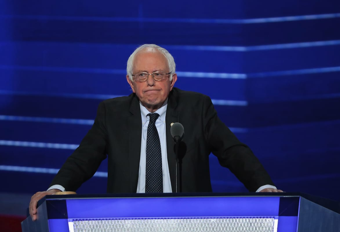 39796UNILAD imageoptim GettyImages 580962528 Bernie Sanders Wouldve Beaten Donald Trump If He Was A Candidate