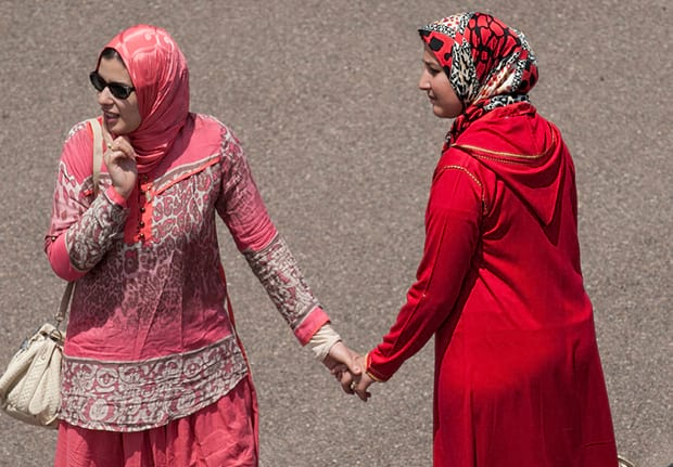Moroccan Teenagers Face Jail For Lesbian Kiss