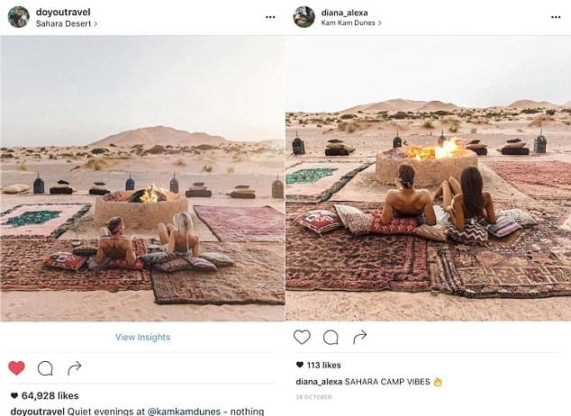 Creepy Woman Mysteriously Follows Traveller Round World Copying Her Photos 55410UNILAD imageoptim gypsy lust 6