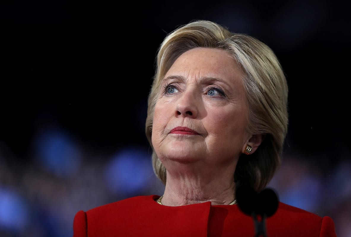 7066UNILAD imageoptim GettyImages 621743972 BREAKING: Hillary Clinton Concedes Defeat In Most Painful Speech Of Her Career