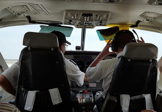 Pilot Congratulates Passengers For Drinking All Alcohol On Plane