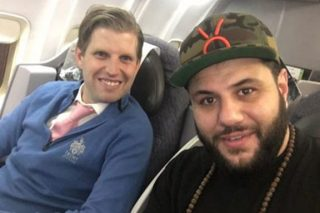 Muslim Comedian Sat Next To Eric Trump On A Plane, This Is What Happened
