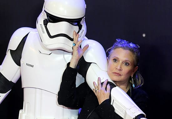 This Is The Bizarre Way Carrie Fisher Wanted Her Obituary To Be Written