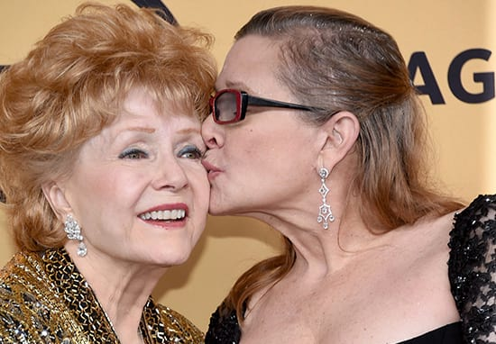 Carrie Fisher's Mum's Final Words Before She Died Were Heartbreaking