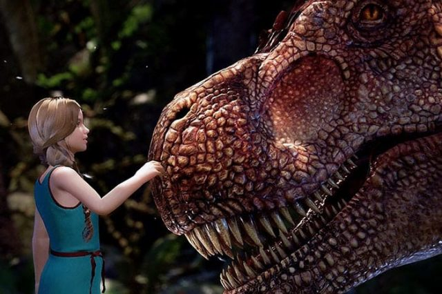 You Can Live Your Jurassic Park Fantasies In Ark's New VR Mode