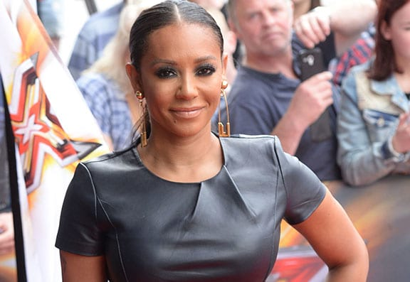Mel B Poses Completely Nude To 'Embrace Her Flaws'