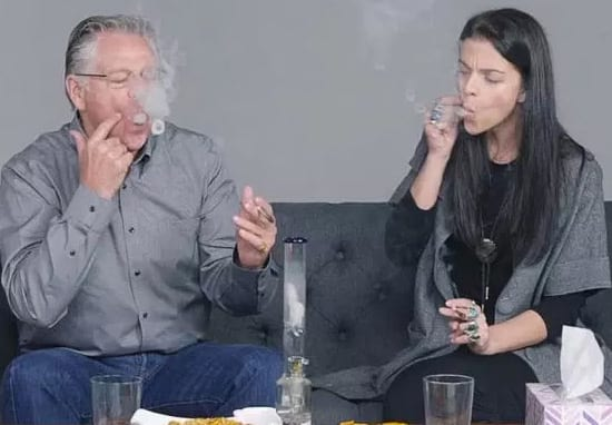 Parents Smoke Weed With Their Kids For The First Time