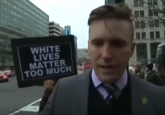 White Nationalist Leader Brutally Punched In The Face On Live TV