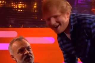 Ed Sheeran Gets Huge Surprise During Red Chair Segment On Graham Norton