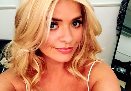 Holly Willoughby 'Dirty Page Three' Top Causes Heated Argument