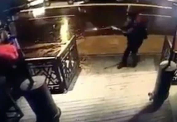 CCTV Captures The Moment NYE Nightclub Attacker Opened Fire