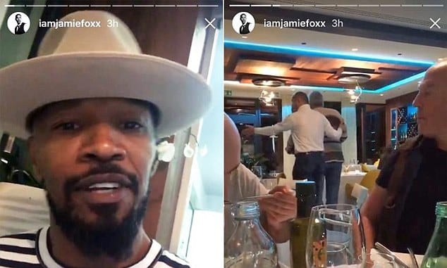 105 jamie foxx racist attack Jamie Foxx Records Himself Being Racially Abused In Restaurant