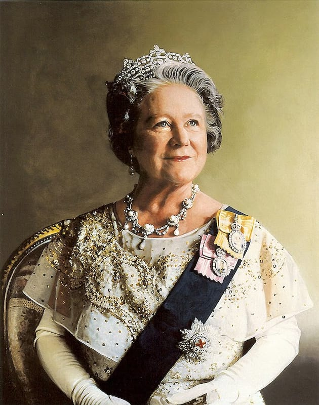 The Queens Outrageous Drinking Habits Revealed 157 Queen Elizabeth the Queen Mother portrait