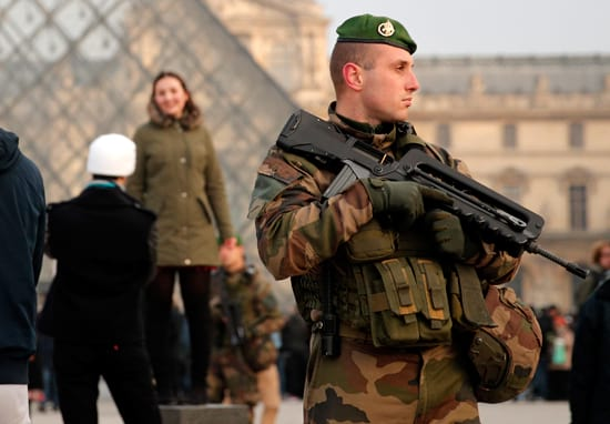 Here's What We Know About The Shooting At Paris's Louvre Gallery
