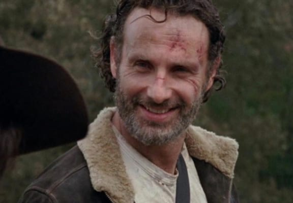 Here's Why Rick Was Smiling At The End Of The Walking Dead Return