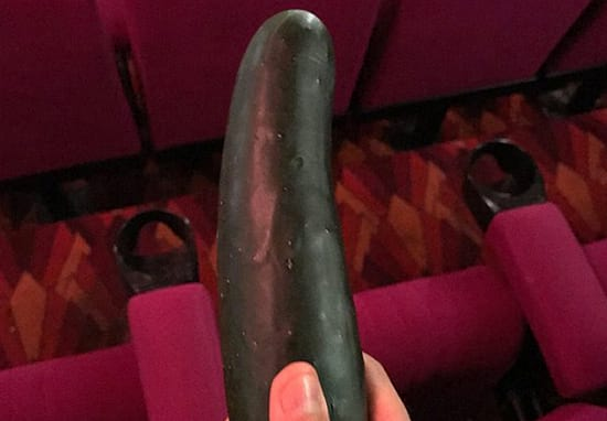 Cinema Worker Finds Cucumber While Cleaning Fifty Shades Darker Screen