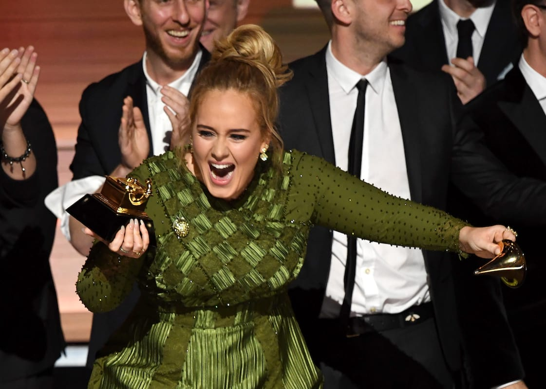 619 adele1 Adele Broke Her Grammy In Half To Share It With Beyoncé