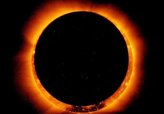 Here's How To Watch The 'Ring Of Fire' Solar Eclipse