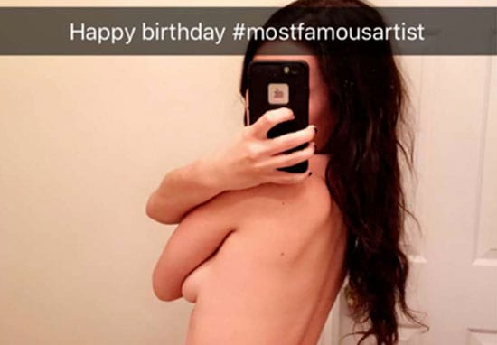 Man Screenshots Nude Snapchats And Turns Them Into Art