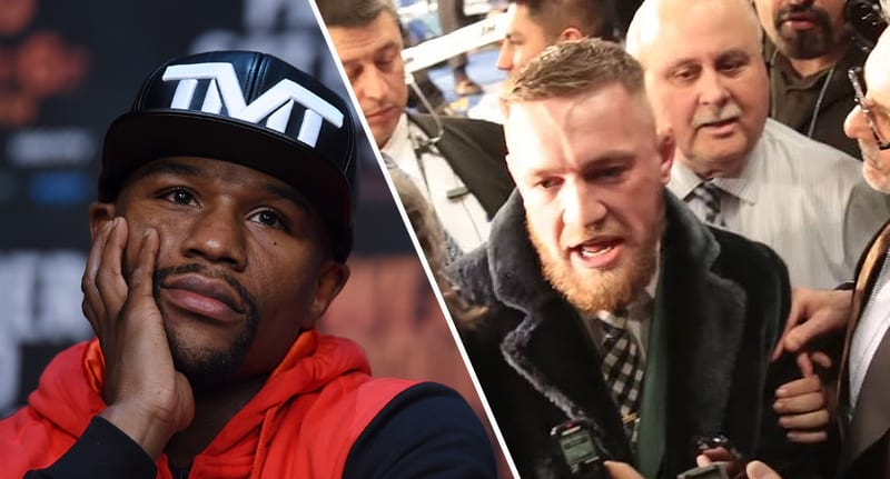 Conor McGregor Goes Full Savage On Reporter About Floyd Mayweather 1376 mcgregor mayweather fb