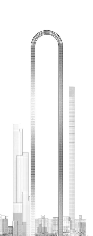 Incredible U Shaped Skyscraper In New York Has Been Unveiled 197 u8