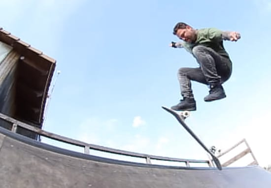 Bam Margera Is Back On A Skateboard And He's Definitely Still Got It