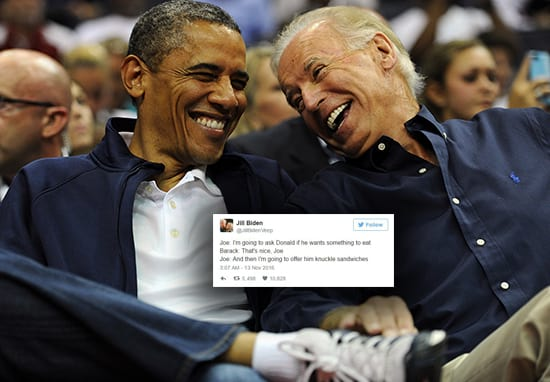 Joe Biden Reveals Which Biden-Obama Meme Had Him 'Laughing For An Hour'