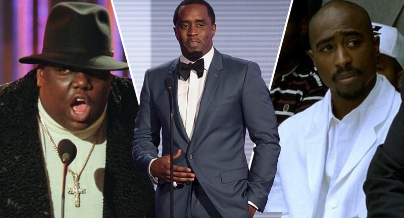 P Diddy hired killer to shoot dead rapper Tupac Shakur