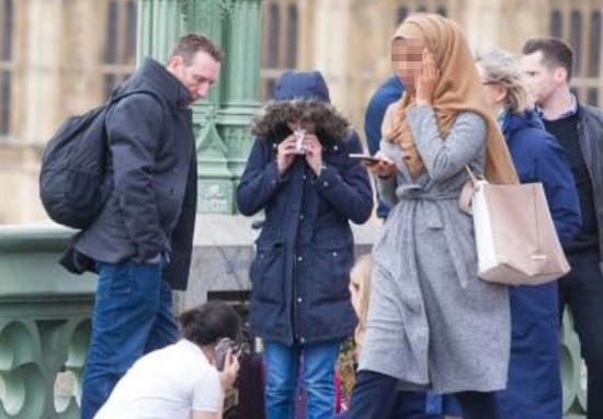 Woman Pictured 'Ignoring' The Westminster Attack Speaks Out