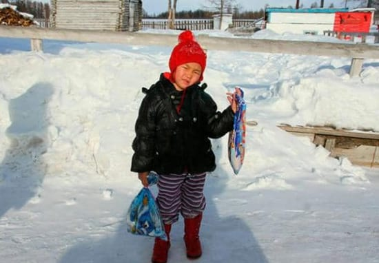Four-Year-Old Treks Five Miles In -33C Temperature To Get Help For Dying Grandma