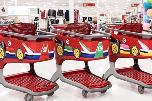 A Supermarket Has Converted Its Trollies Into Mario Karts And The Shop Into A Track