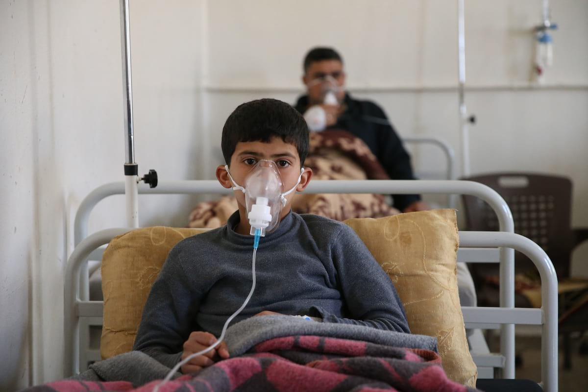 This Is What Deadly Sarin Gas, The Chemical Used In Syria, Does To Your Body 894 GettyImages 664834016