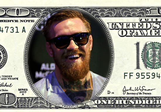 Here's The Staggering Amount Of Money Conor McGregor Made Last Year