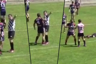 Rugby Player Faces Life Ban For Bone Crunching Knockout Of Referee