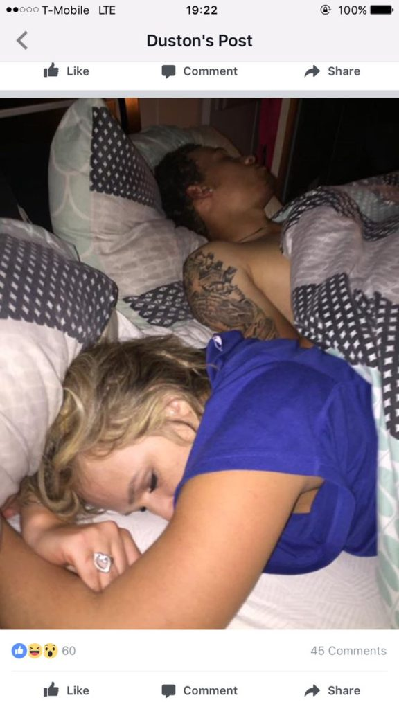Guy Finds His Girlfriend Cheating, Does Photoshoot As They Sleep In His Bed cheat2 576x1024
