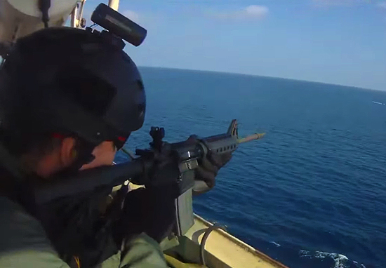 Shocking Video Shows Deadly Gunfight As Somali Pirates Try To Board Cargo Ship